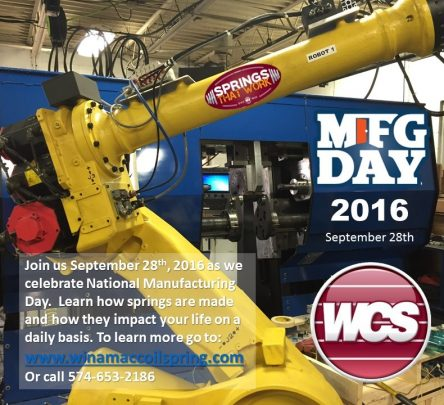 MFG Day Event Sept. 28th, 2016